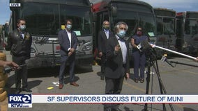 SF supes announce no Muni fare increases for the next two years
