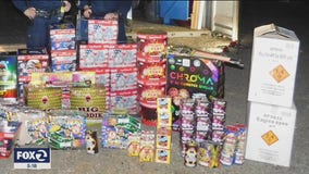 Oakland overrun by illegal fireworks