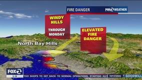 High fire danger in North Bay