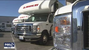 RV business sees jump in rentals as vacationers forego flying to hit the road
