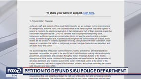 Petition to defund SJSU police department draws hundreds of signatures