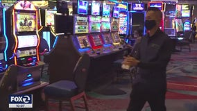 Bay Area's only Vegas-style casino reopens after COVID-19 closure
