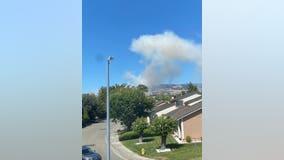 Grass fire reported in Petaluma