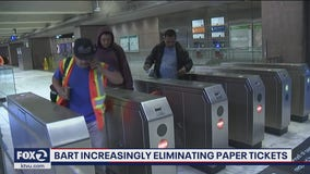 BART increasingly eliminating paper tickets