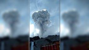 Indonesia's most volatile volcano spews ash in new eruption