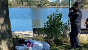 Oakland police, FBI investigating fake body found hanging from a noose near Lake Merritt