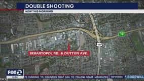 Santa Rosa police seek suspect in double shooting