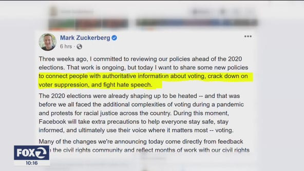 Facebook to label all rule-breaking posts - even Donald Trump's