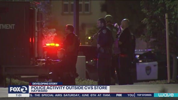 Hayward police shoot man at looted CVS