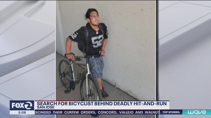 Police investigate hit-and-run bicycle death in San Jose