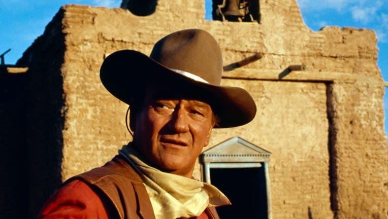 John Wayne as Cole Thornton