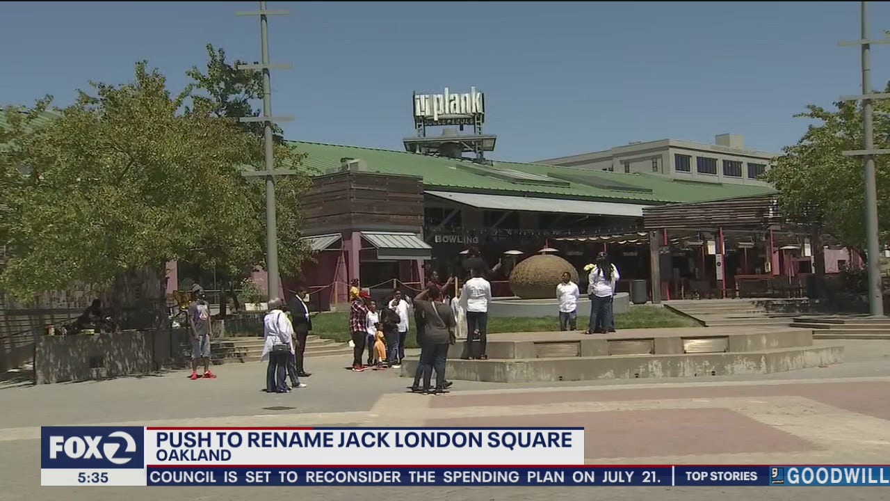 Petition calls for changing Jack London Square after Barbara Lee