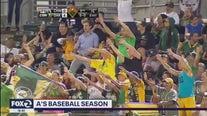 A's baseball season