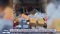 Stolen U-Haul found in Oakland