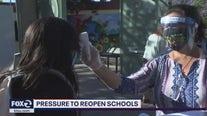 Pressure to reopen schools