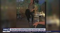 Tech CEO identified in racist rant