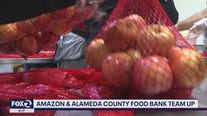 Amazon and Alameda County food bank team up