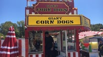 Marin County fairgrounds transformed into drive-thru for carnival foods