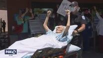 Triathlete released from hospital following lengthy COVID-19 battle