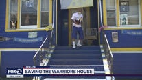 Warriors fan may lose West Oakland home painted in team colors