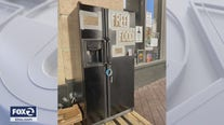 Oakland 'Town Fridge' free food refrigerator overwhelmingly supported