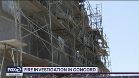 Investigation underway in Concord townhome complex fire