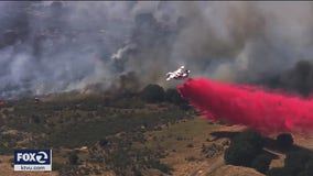 Fairfield vegetation fire under control, evacuations lifted