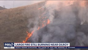 Crews Fire burns for third straight day