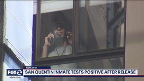 San Quentin inmate released with no where to go tests positive for COVID-19