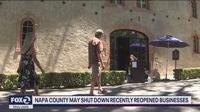 Napa County may close businesses as coronavirus cases surge