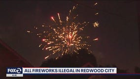 Redwood City police announce $50,000 fine and jail for possession of fireworks