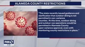 Alameda County placed on the State coronavirus watch list