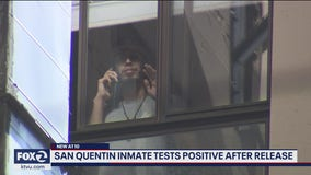 San Quentin inmate tests positive after being released