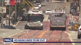 SFMTA says 40 bus lines are at risk of being halted due to funding constraints