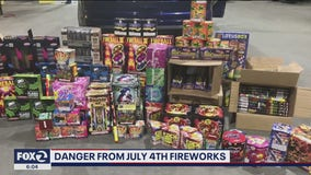 Illegal fireworks likely being smuggled into California from other states