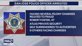 San Jose police officer arrested