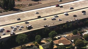 SkyFOX over Thursday afternoon crash on I-680 in Concord