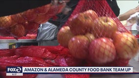 Amazon and Alameda County food bank team up