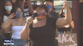 Protesters rally outside Marin County Jail, demand sheriff stop cooperating with ICE