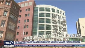 Calls grow to remove Zuckerberg name from San Francisco General Hospital