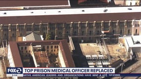 Top prison medical officer replaced