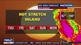 Forecast: Hot stretch continues into weekend