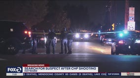 CHP fire shot at driver in stolen car who they say swerved into officers