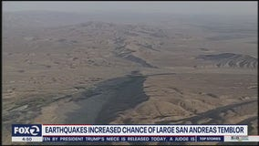 Study suggests earthquake more likely on San Andreas Fault