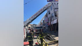 Fire displaces 15 people in San Francisco's Mission District