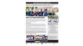 Santa Rosa hospital workers plan week of picketing