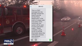 Contra Costa Co. fire officials hold wildfire evacuation exercise