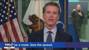 Gov. Newsom talks hospital capacity, safely reopening schools as California coronavirus cases rise