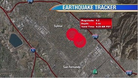 Morning 4.2-magnitude earthquake strikes San Fernando Valley, waking SoCal residents