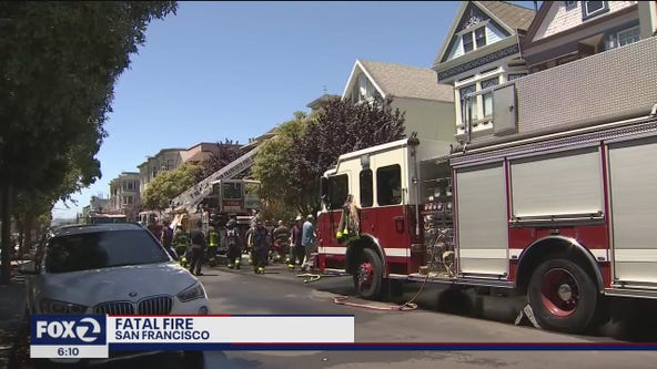 One person killed, another injured in San Francisco house fire